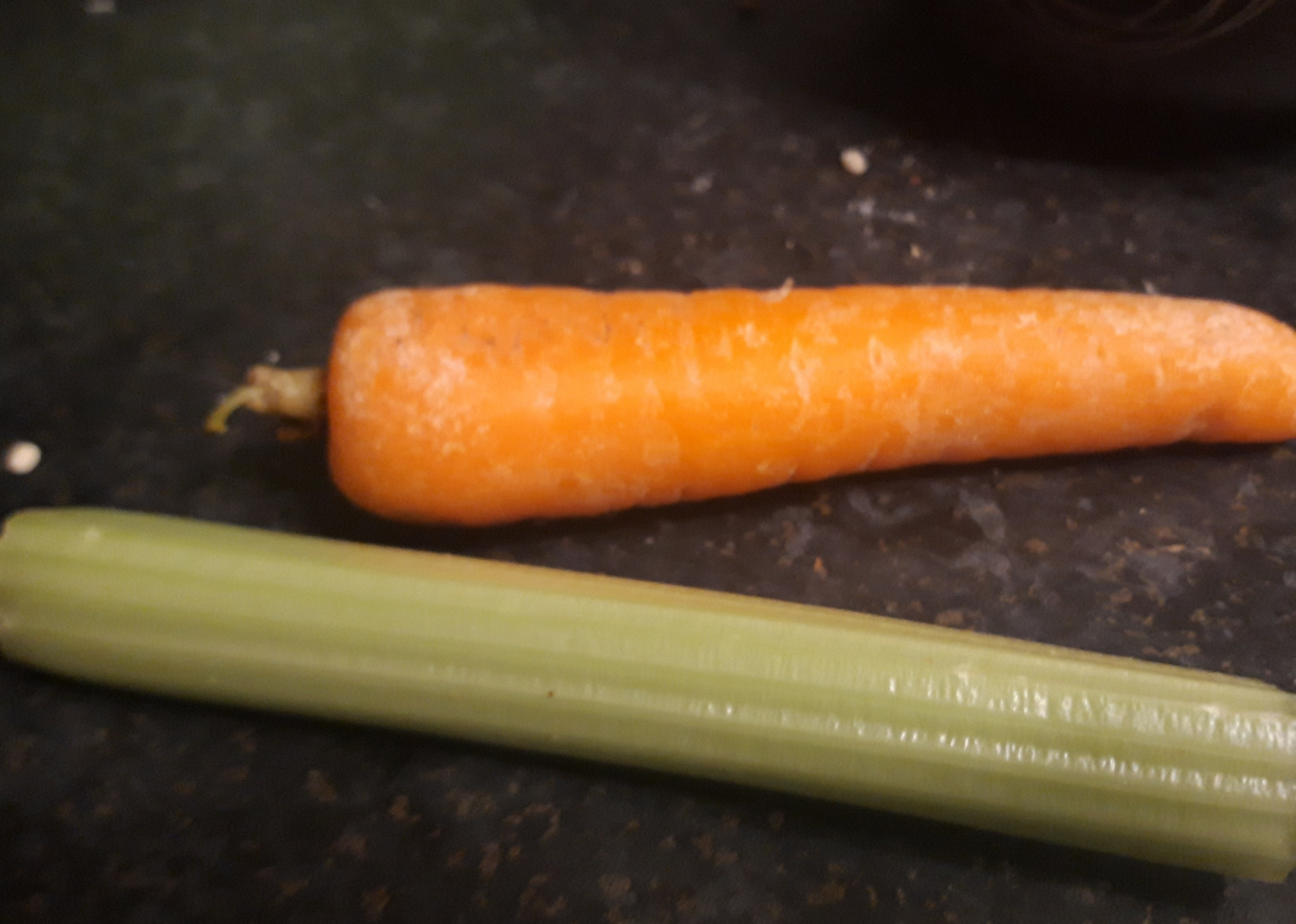 carrot and celery for crockpot chicken casserole