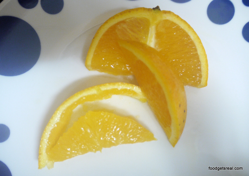 even fruit such as oranges can be used in salads
