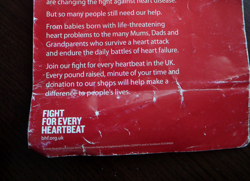 British Heart Foundation - fight the junk ads